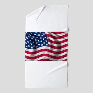 usflag Beach Towel