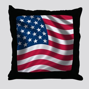 usflag Throw Pillow