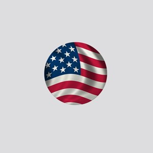 usflag Mini Button