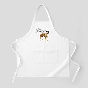 Got Boxer? BBQ Apron
