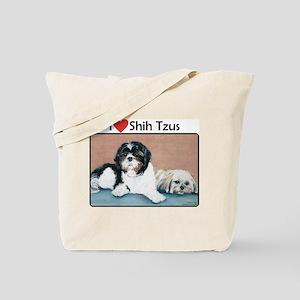I love Shih Tzus Tote Bag