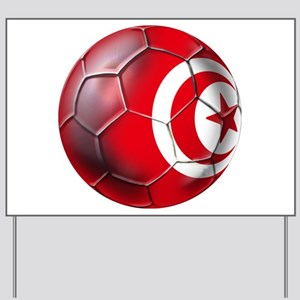 Tunisian Football Yard Sign