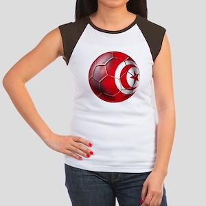 Tunisian Football Women's Cap Sleeve T-Shirt