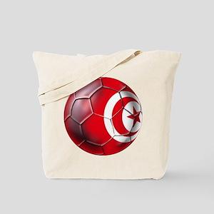 Tunisian Football Tote Bag