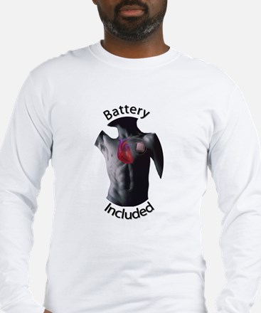 Battery Included Long Sleeve T-Shirt