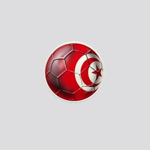 Tunisian Football Mini Button