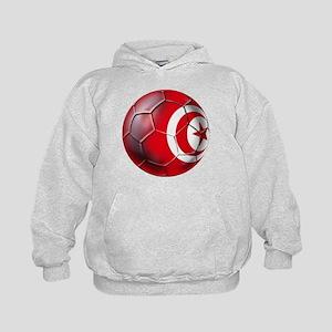Tunisian Football Kids Hoodie