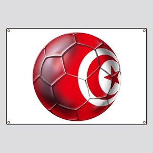 Tunisian Football Banner