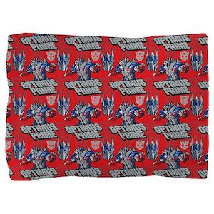 Transformers Optimus Prime Pillow Sham