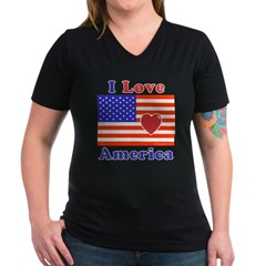 Heart America Flag Shirt