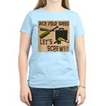 Pick Your Speed Women's Pink T-Shirt