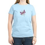 Dragonfly Pink Watercolor T-Shirt
