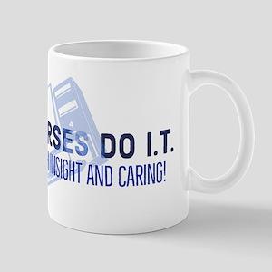 Nurses Do I.t. With Caring 11 Oz Mug Mugs