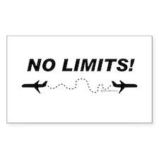 NO LIMITS! Rectangle Sticker