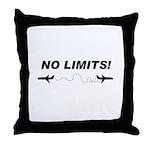 NO LIMITS! Throw Pillow