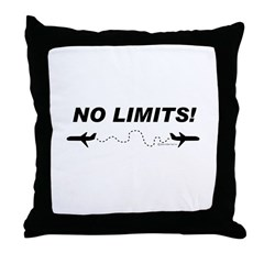 NO LIMITS! Throw Pillow
