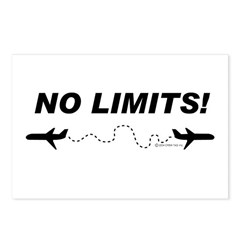 NO LIMITS! Postcards (Package of 8)