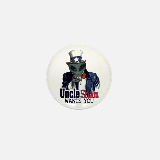 Uncle Sham Wants You! Mini Button