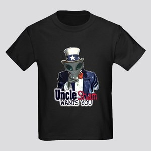 Uncle Sham Wants You! Kids Dark T-Shirt