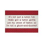 Cancer Poem Rectangle Magnet (10 pack)