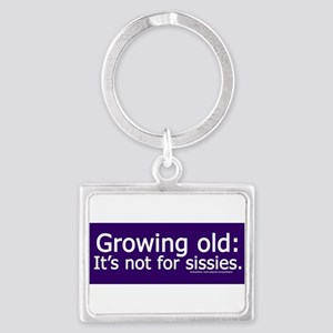 Growing Old Keychains