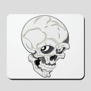 Ghoulish Skull Mousepad