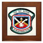 Son Tay Raider Framed Tile