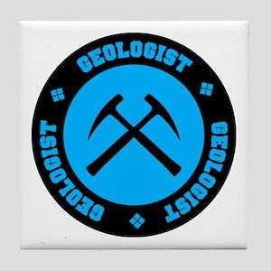 Geologist Tile Coaster