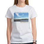 On The Chester River Women's T-Shirt