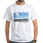 On The Chester River White T-Shirt