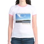 On The Chester River Jr. Ringer T-Shirt