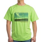 On The Chester River Green T-Shirt