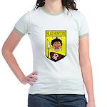 80th Fighter Squadron Jr. Ringer T-Shirt