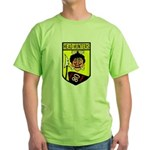 80th Fighter Squadron Green T-Shirt