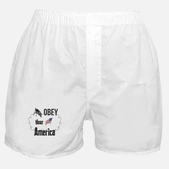 Obey Your America. Boxer Shorts