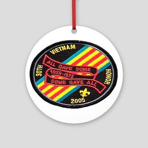 Vietnam 30 Years Ornament (Round)