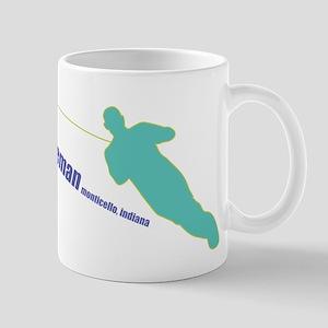 a water ski summer Mug