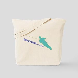 a water ski summer Tote Bag