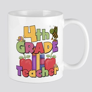 4th Grade Teacher Mug
