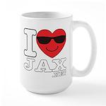 I LOVE JAX Mugs