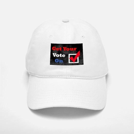 Get Your Vote On! Baseball Baseball Cap