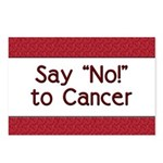 Say No to Cancer Postcards (Package of 8)