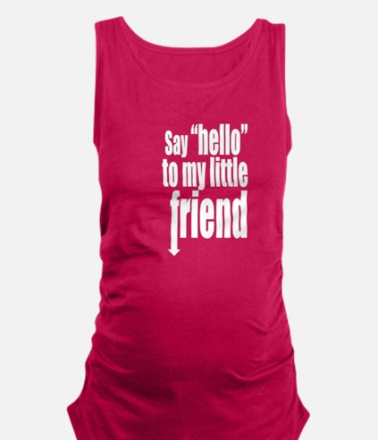 LittleFriendinWhite.png Tank Top