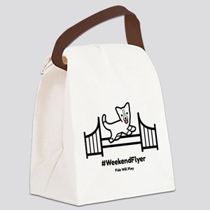 Weekend Flyer Canvas Lunch Bag