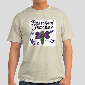 Butterfly Preschool Teacher Light T-Shirt