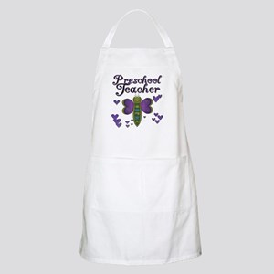 Butterfly Preschool Teacher BBQ Apron