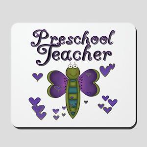 Butterfly Preschool Teacher Mousepad