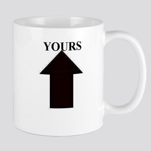 Up Yours Coffee Mug