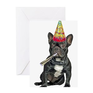 Funny French Bulldog Greeting Cards