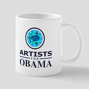 ARTISTS FOR OBAMA Mug